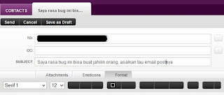 Update Status Lewat Email