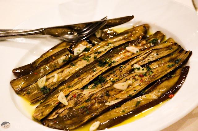 Tosca's Melanze Saporite (Eggplant Dish)