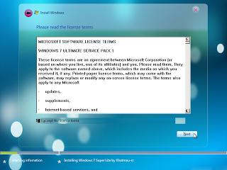 windows 7 ultimate yang ringan untuk netbook