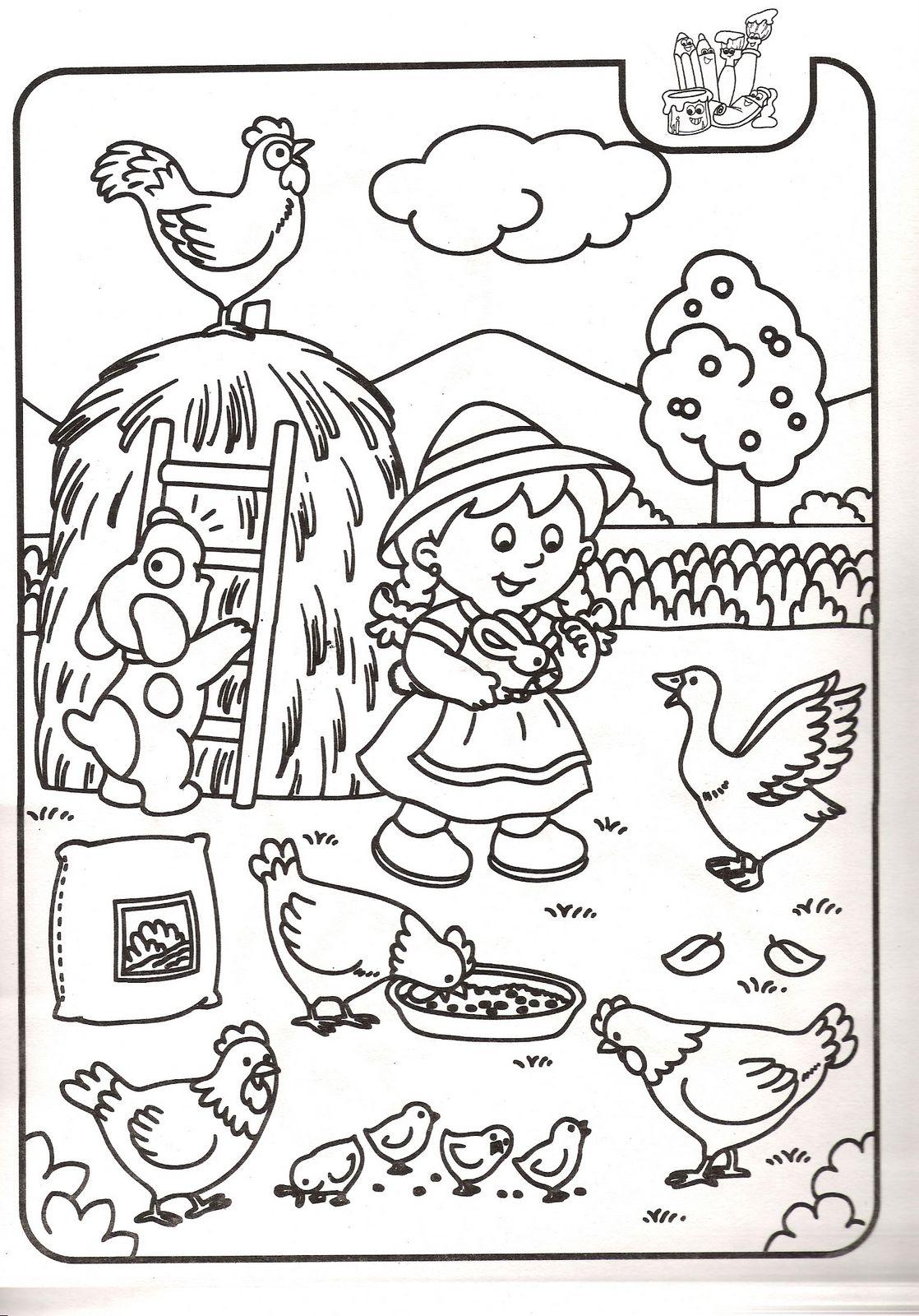 Dibujos Para Colorear De Las Ofrendas