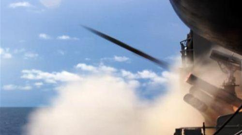 Penembakan Roket Chaff KRI Malahayati-362