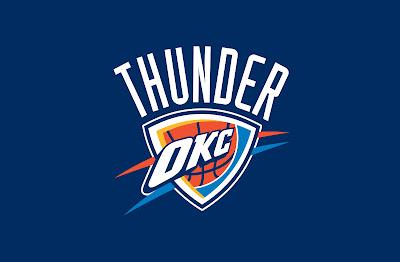 Oklahama City Thunders Basketball Team Logo HD Desktop Wallpaper