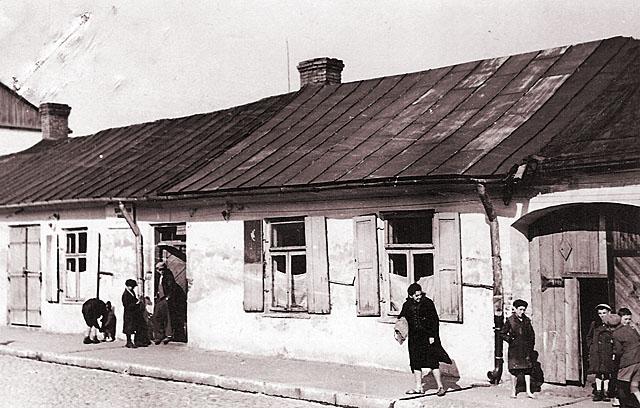 Końskie, getto, ul. Joselewicza 24. Fotografię udostępnił Mateusz Partyka