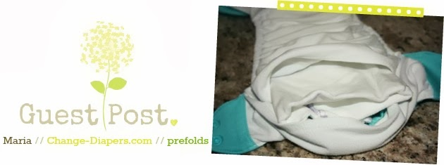 guest post by maria of change-diapers on using prefolds in pocket diapers