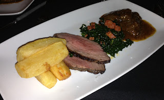 Iberico Pork, Chorizo and Kale, Iberico Chips