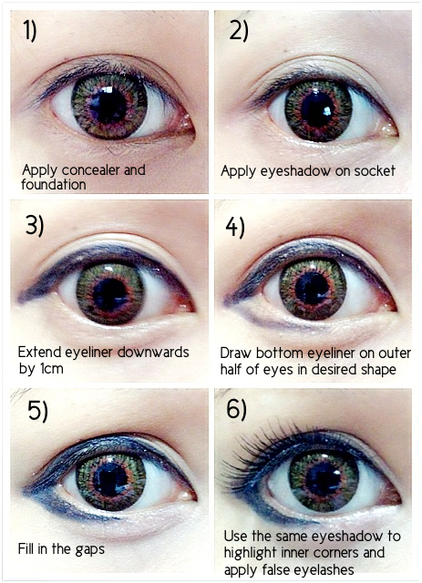 Ariska pues blog korean eyes makeup korean eyes makeup ccuart Images