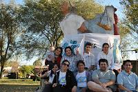 La Cámpora Carlos Casares homenajeó a Evita