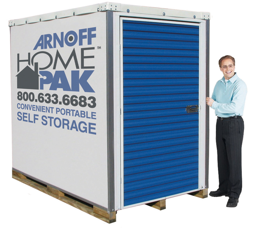 Portable storage and moving containers