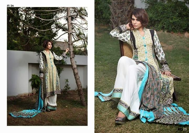 Shariq Teztiles Subhata Linen Dresses 2014 For Women