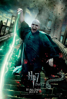 Harry Potter and the Deathly Hallows: Part 2 Character Movie Poster Set - Ralph Fiennes as Lord Voldemort