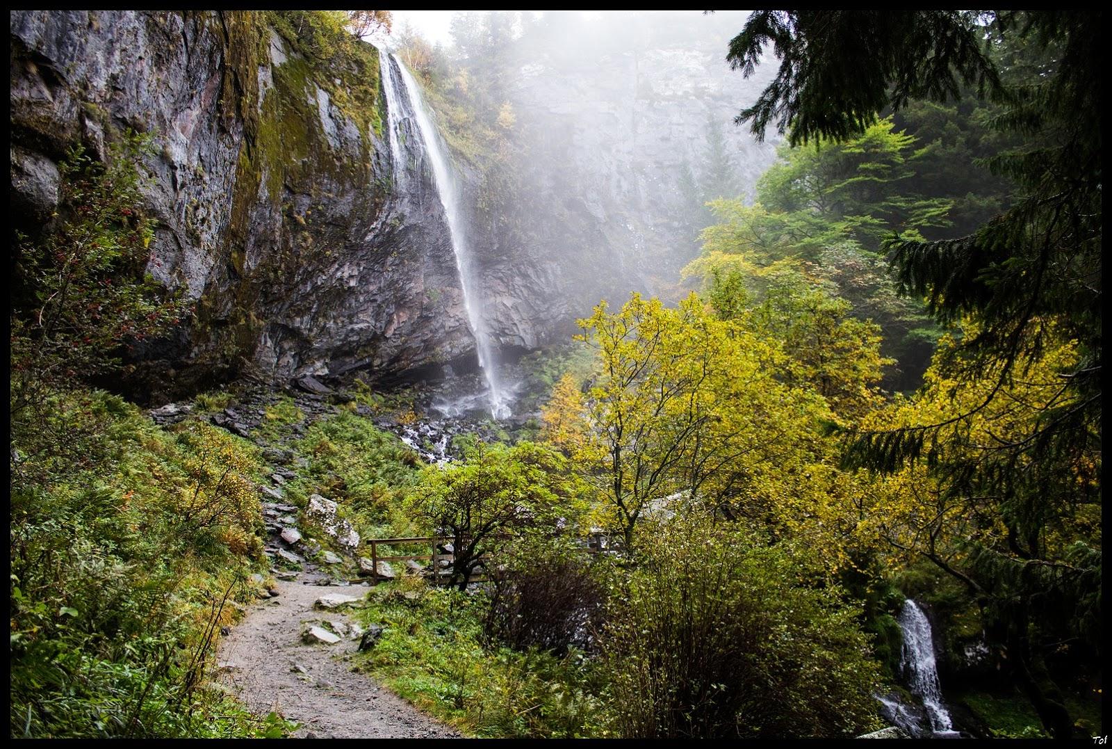 mes photos la grande cascade le mont dore