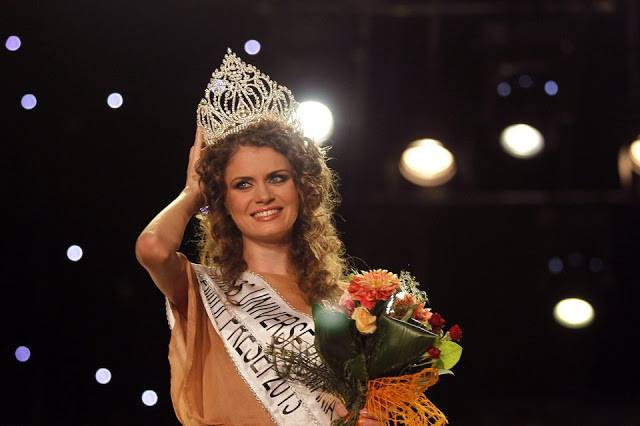 Miss Universe Romania 2013 winner Roxana Oana Andrei