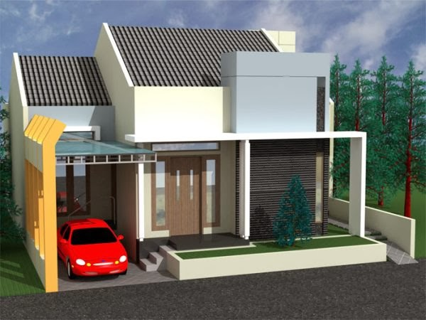 contoh desan rumah minimalis 1