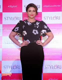 Parineeti Chopra Looks So cute and Beautful in Tight Black Dress at a Jewellery Store Launch