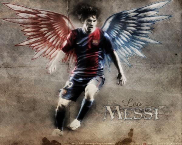 Lionel Messi Wallpaper 2012