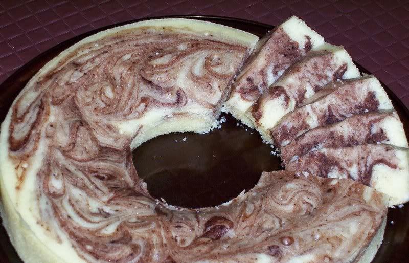 Resep Zebra Cake Almond Kukus