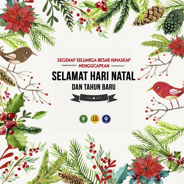 Selamat Hari Natal dan Tahun Baru 2016