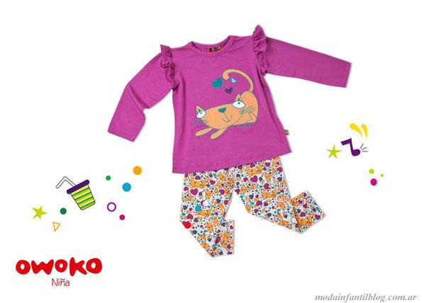 owoko ropa para niñas invierno 2013