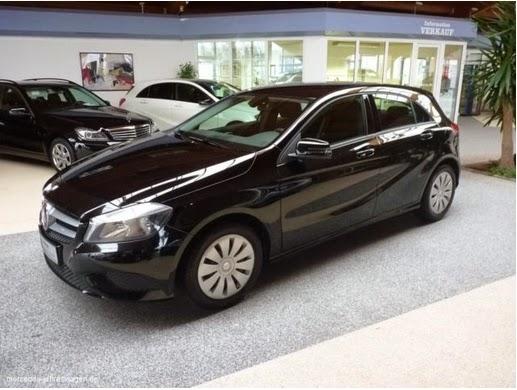 Nachtschwarz Mercedes-Benz A 180