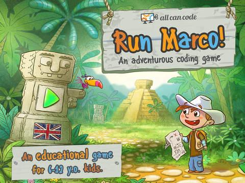 Run Marco, aplicación para iPad.