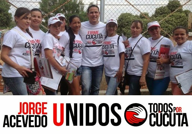 En tiempo récord, 'Todos por Cúcuta' y el Voluntariado por Jorge Acevedo superarán las 50 mil firmas de apoyo Exclusiva FronteraNOTICIAS por Félix Contreras