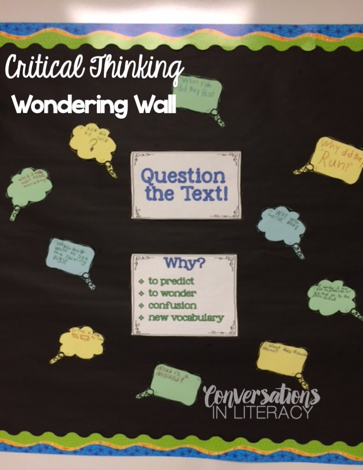 Critical thinking and reading activities