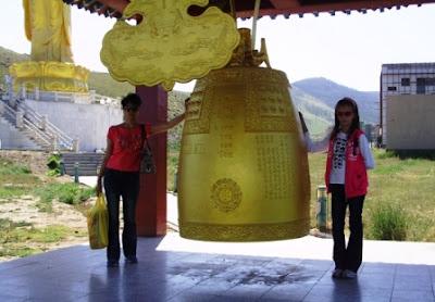 Статуя Будды в Улан-Баторе
