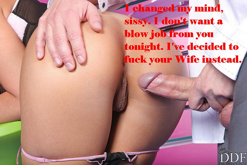 Cuckold Sissy Maid Captions