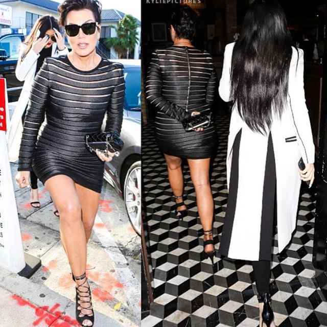 Kris Jenner slays in hot mini dress for date night with Kylie | Miss ...