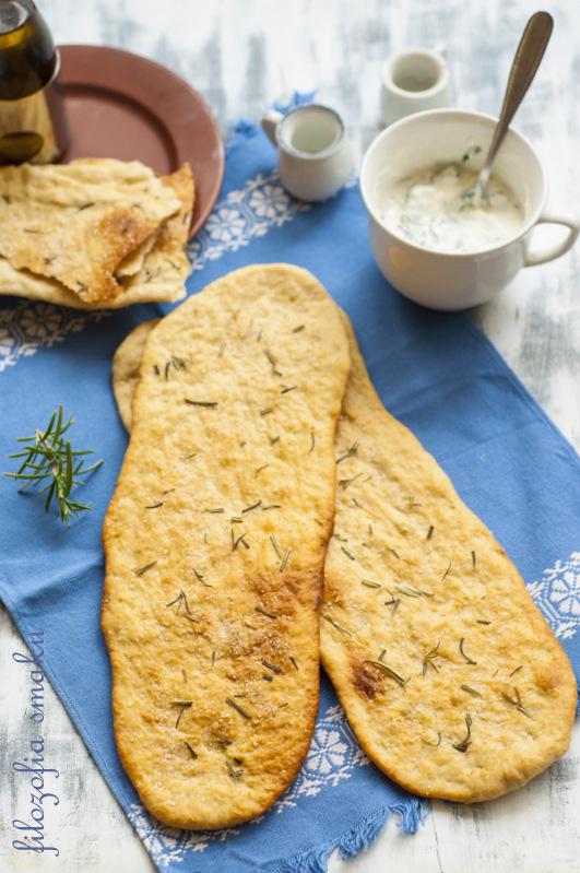 Chlebki z rozmarynem