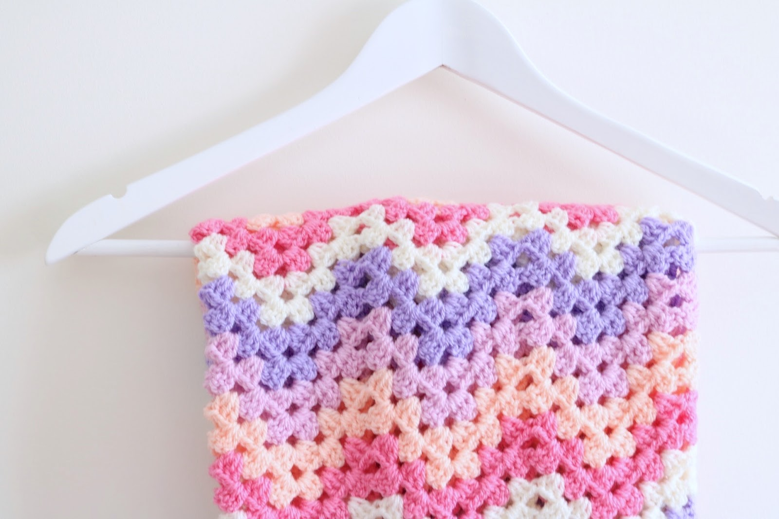 Crochet Granny Chevron blanket tutorial - Bella Coco by Sarah-Jayne