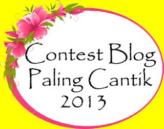 CONTEST BLOG PALING CANTIK 2013