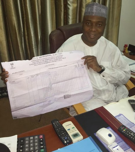 bukola saraki winners election kwara
