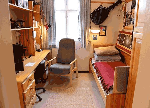 Ruang sel penjara Bastoy