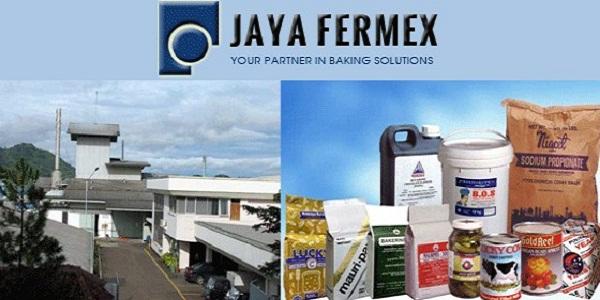 PT JAYA FERMEX : BAKER DA SALESMAN : KOTA MEDAN, SUMUT INDONESIA
