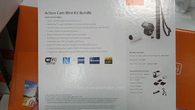 Sony HDR-AZ1VR Action Cam Mini: portable and easy to carry