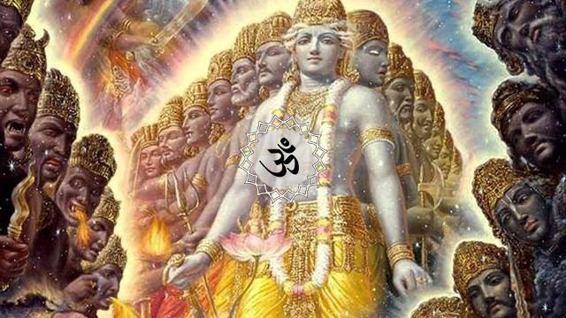Shanti Mantra in Bengali from Rig Veda - Purusha Suktam