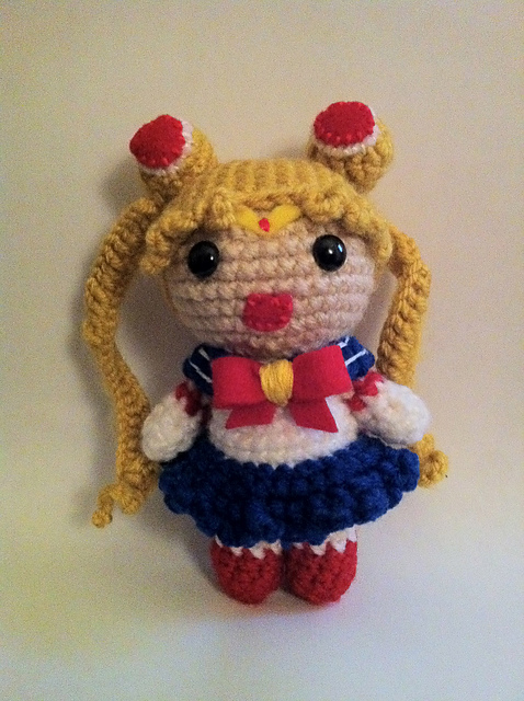 Amigurumi Sailor Moon : 2000 Free Amigurumi Patterns: Free Sailor Moon Amigurumi ...