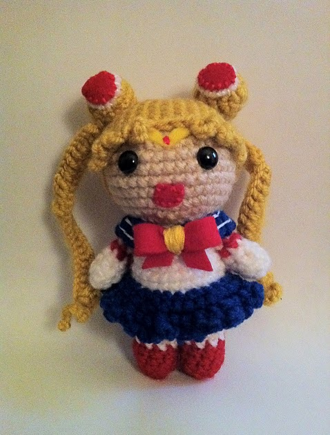Amigurumi Sailor Moon Luna : 2000 Free Amigurumi Patterns: Free Sailor Moon Amigurumi ...