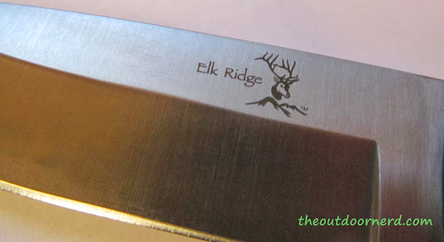 Elk Ridge Er-196 Fixed Blade Knife - Closeup Of Blade 4