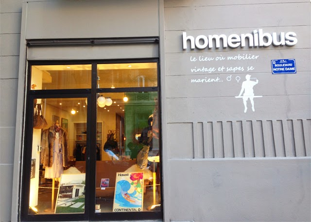 boutique vintage homenibus - blog city guide Marseille -