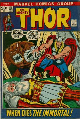 Thor #198, Mangog, Odin dead