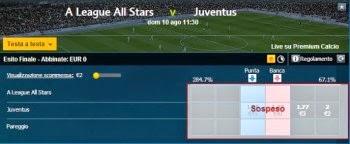 All Stars Juve problemi