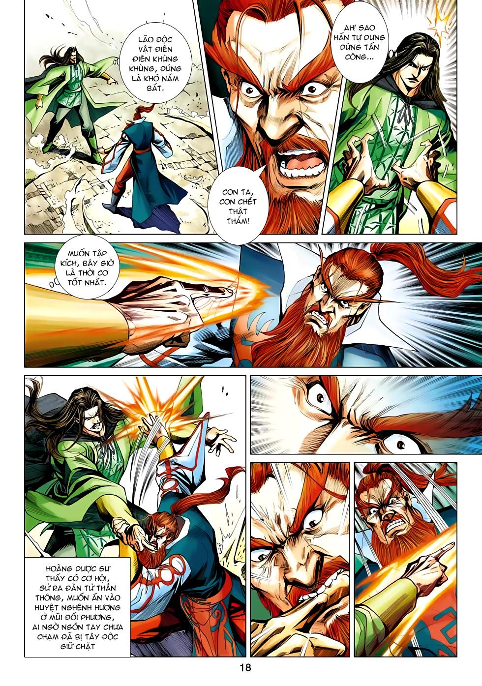 Xạ Điêu Anh Hùng Truyện chap 100 – End Trang 18 - Mangak.info