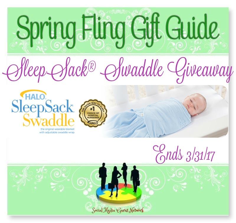 Spring Fling Sleep Sack Swaddle Giveaway