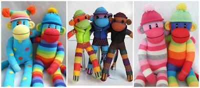 шитые сувениры обезьян мандара 0016