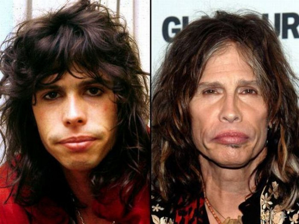 steven-tyler-rock stars then and now