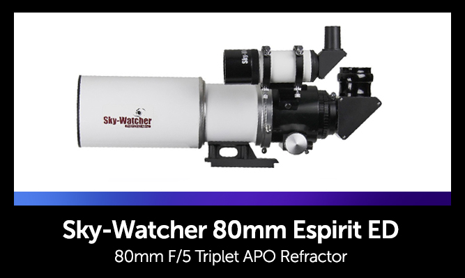 List of Telescopes for Astrophotography - Sky-Watcher 80mm