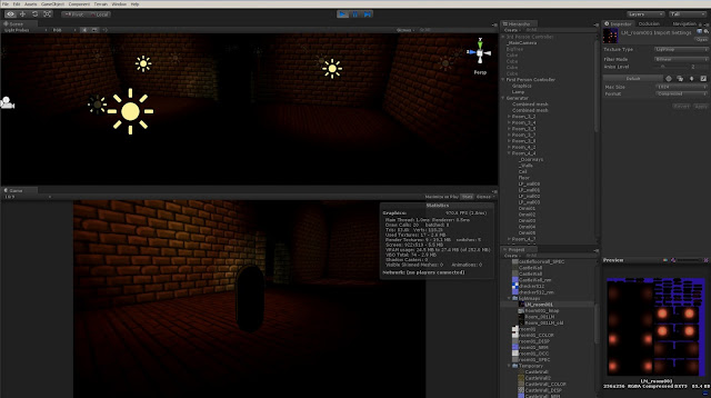 Lightmap with legacy shaders in Unity, generated in 3ds max