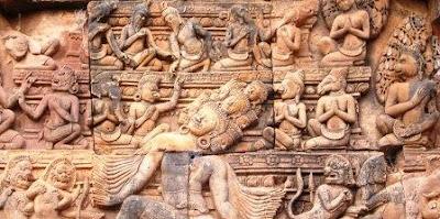 Gambar Relief Kamadhatu Candi Borobudur